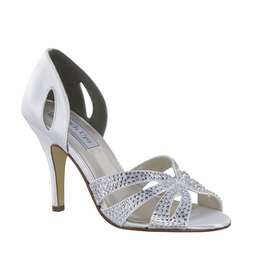 Poise Satin Embellished Pump
