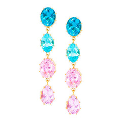 Gemma Pastel Drop Earring