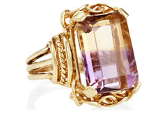 Ametrine Belle Epoque Ring LUXE