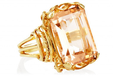 Morganite Belle Epoque Ring