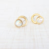 onasis stud earrings