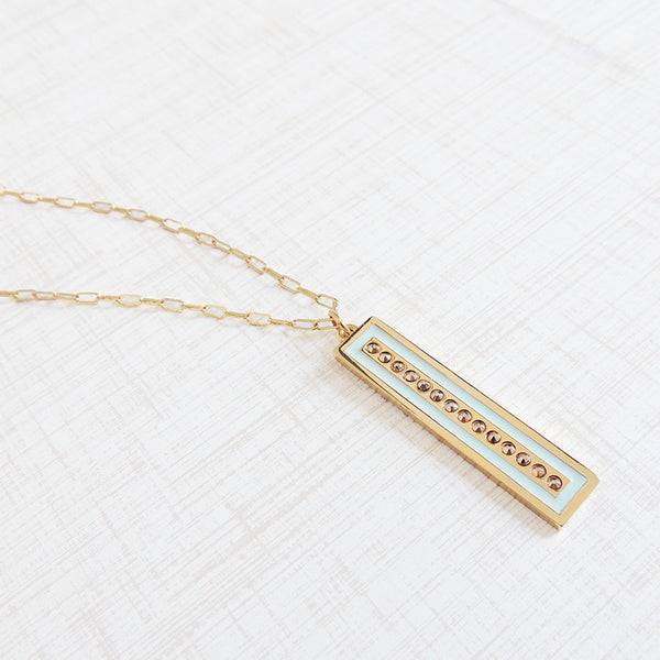 bright lights pendant necklace