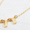 gold standard layering necklace
