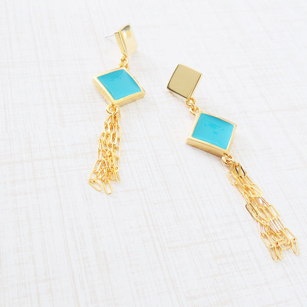 gustavia fringe earrings