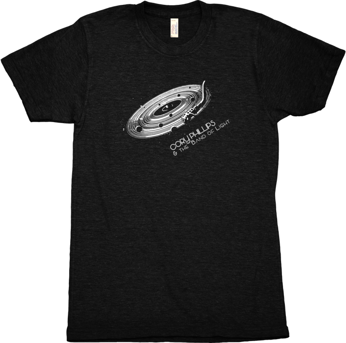 American Apparel Tri Blend Turntable T-shirt