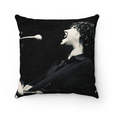 Faux Suede 14 x 14 Kissing Pillow