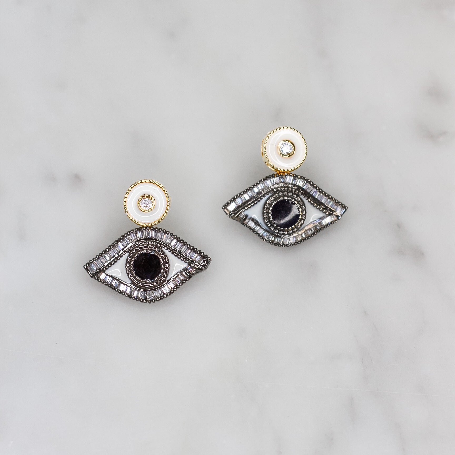 Eye of Protection Earrings
