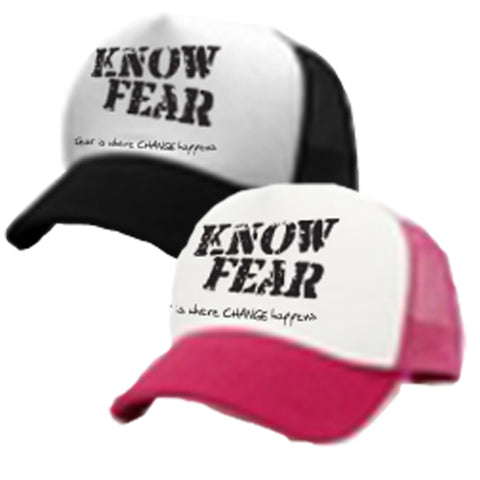 Mesh Trucker Cap - Know Fear