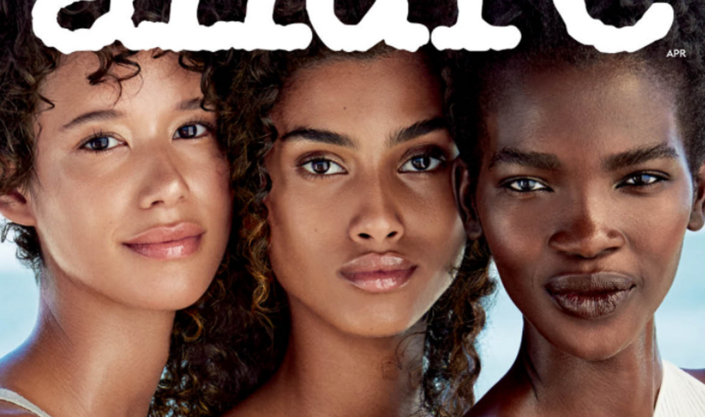 'Allure' Magazine Celebrates 'The Beauty Of Diversity' On April 2017 Cover