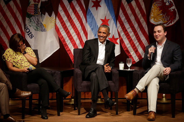 Barack Obama Talks Youth Civic Engagement In First Post-Presidency Public Appearance