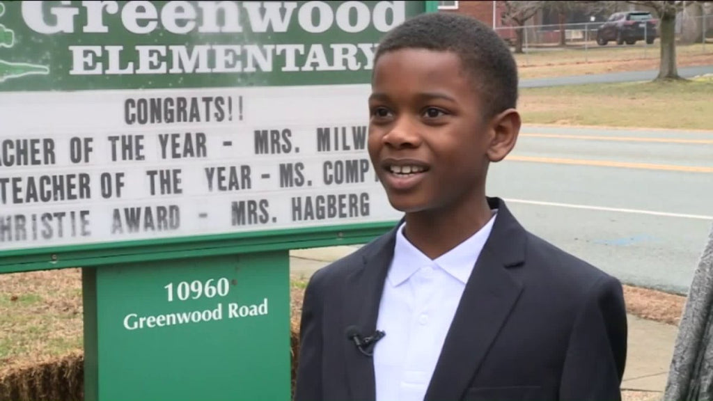 5th Grade Hero Saves Classmate's Life After She Started Choking During Lunch