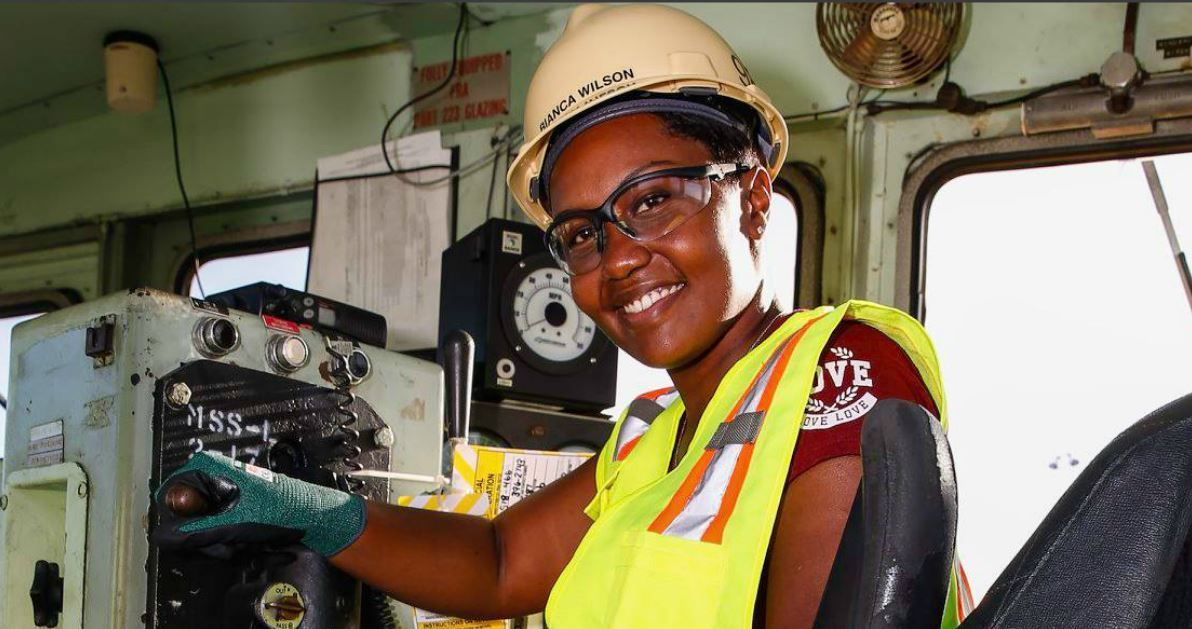 Meet Bianca Wilson, Norfolk Naval Shipyard's First African American Female Train Conductor