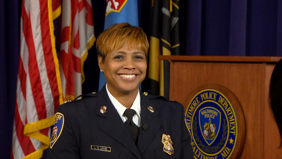 LaTonya Lewis Becomes The Highest Ranking Black Woman In The Baltimore Police Department
