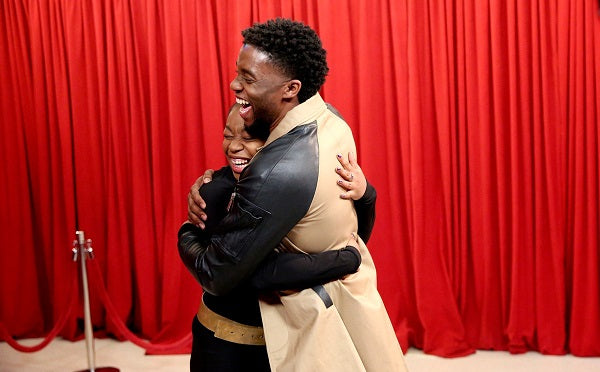 All The Feels: Watch Chadwick Boseman Surprise 'Black Panther' Fans