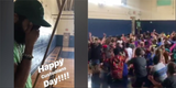 Grab A Tissue And Watch These Third Graders Give Their School Custodian A Sweet Surprise