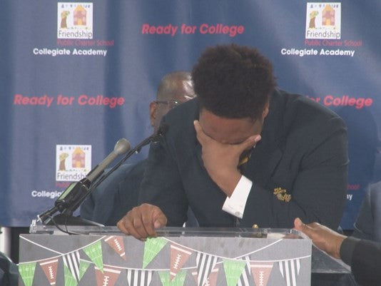 Watch: These D.C. Students Probably Just Made The Most Touching College Decision Announcements Ever