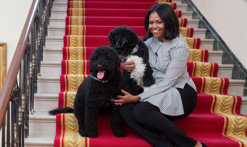 All The Feels: Michelle Obama Takes Her Final Walk Through The White House