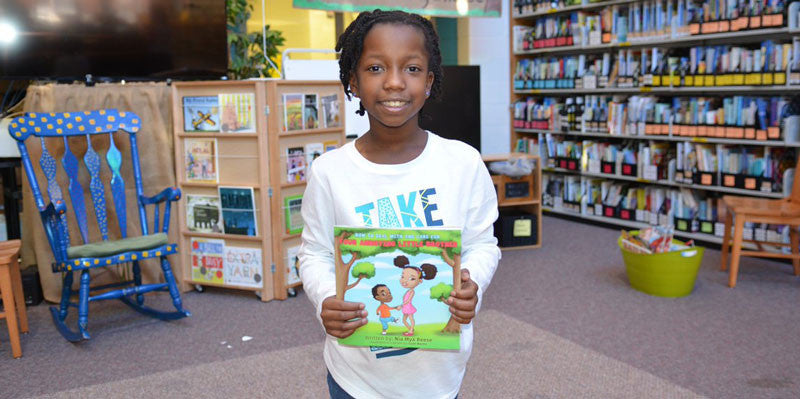 This Adorable 8-Year-Old Girl Is Already A Best-Selling Author