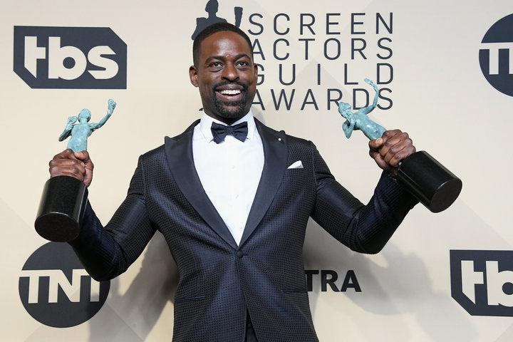 Sterling K. Brown Makes History Again And Delivers Inspiring Acceptance Speech At The 2018 SAG Awards