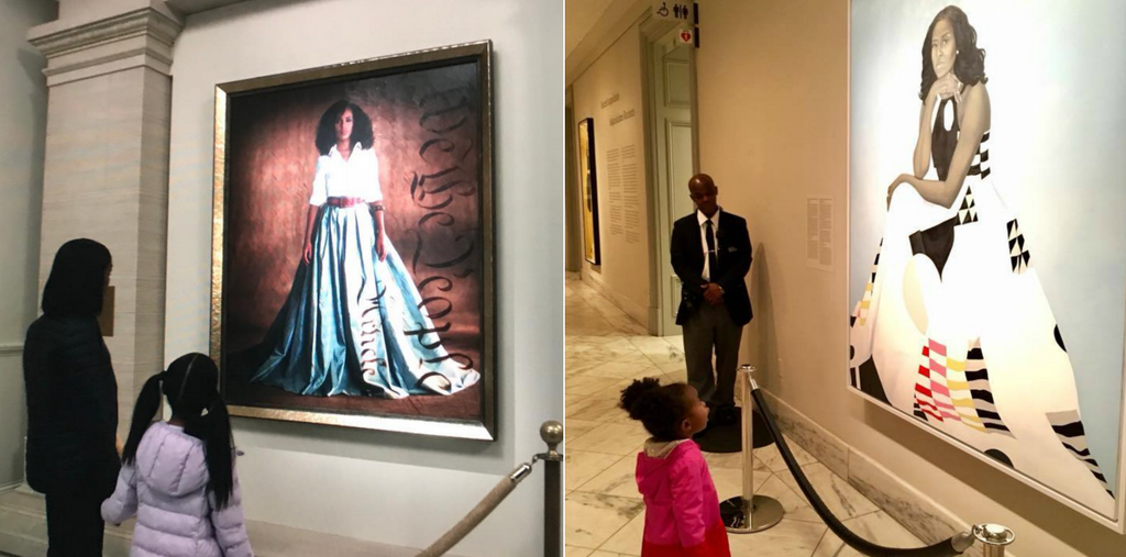 'Scandal' Recreates Captured Moment Of Little Girl Awestruck By Michelle Obama's Portrait