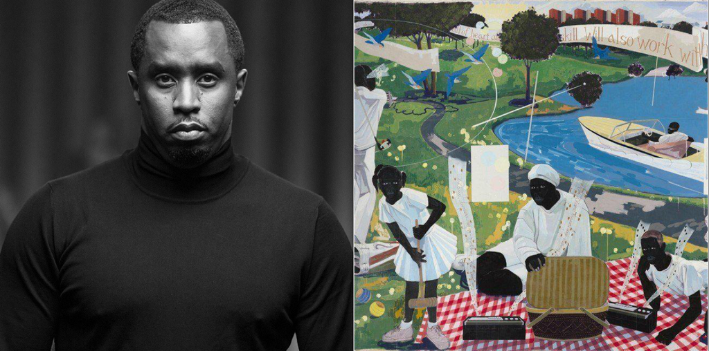 Sean 'Diddy' Combs Spends Record $21 Million To Acquire Kerry James Marshall Painting
