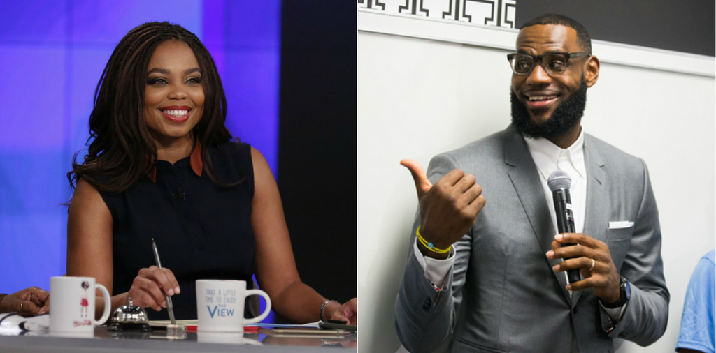 Sports Journalist Jemele Hill Will Narrate LeBron James' 'Shut Up And Dribble' Documentary