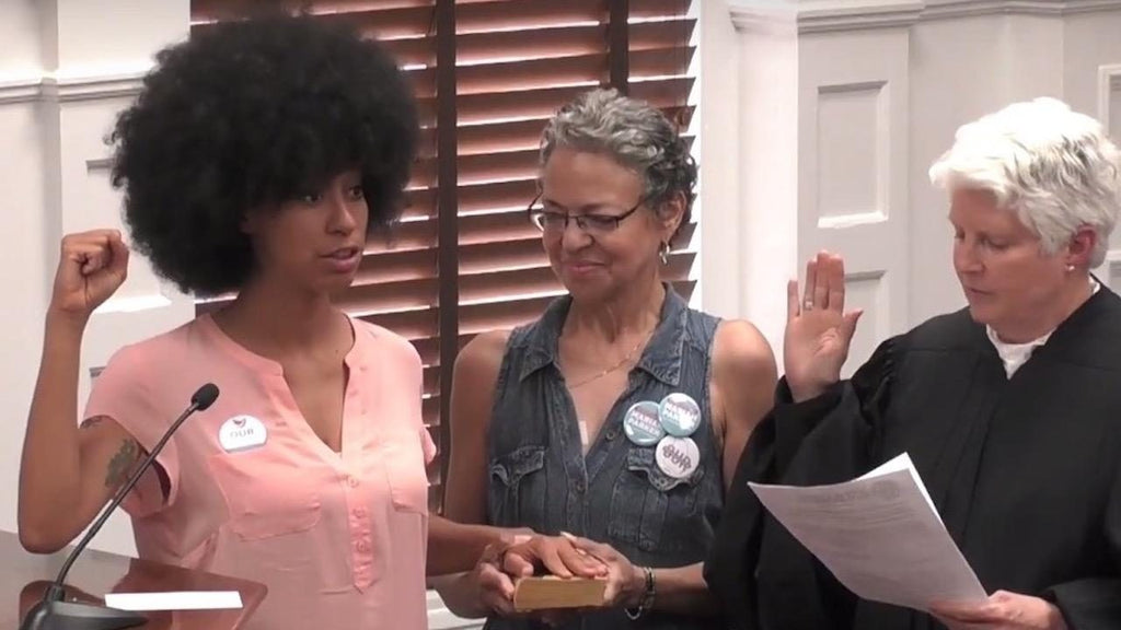 Newly Elected County Commissioner In Athens, Georgia Takes Oath Of ...