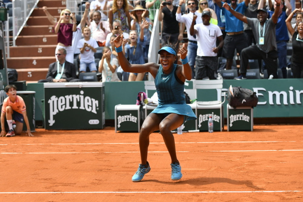 Image result for cori coco gauff french open