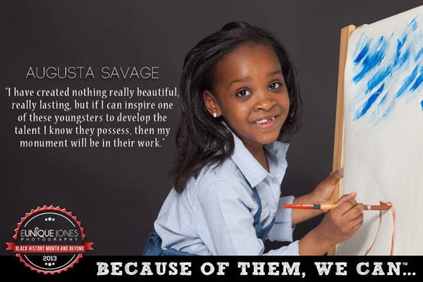 Augusta Savage Because Of Them We Can