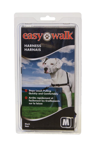 EWH-HC-M-BLK PetSafe® Easy Walk® Harness- Medium, Black/Silver Image