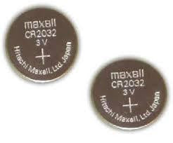 3-Volt Lithium Battery CR-2032 (2-Pack)