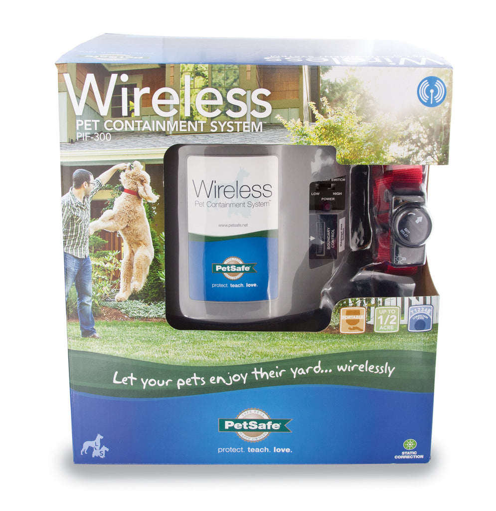 PIF-300 PetSafe® Wireless Pet Fence Containment System™ Packaging