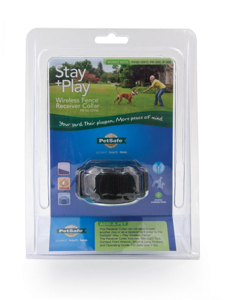 pif0012918 stay play wireless fence receiver collar