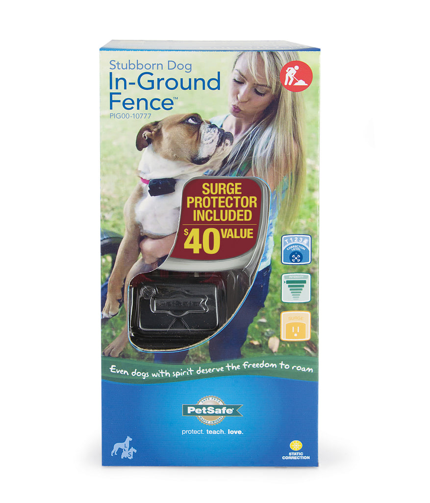 PIG00-10777 PetSafe® Stubborn Dog In-Ground Fence™ Packaging