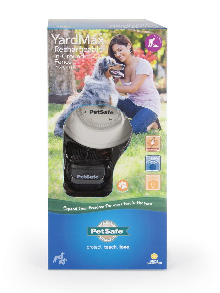 PIG00-11115 PetSafe® YardMax® Rechargeable In-Ground Fence™ Packaging