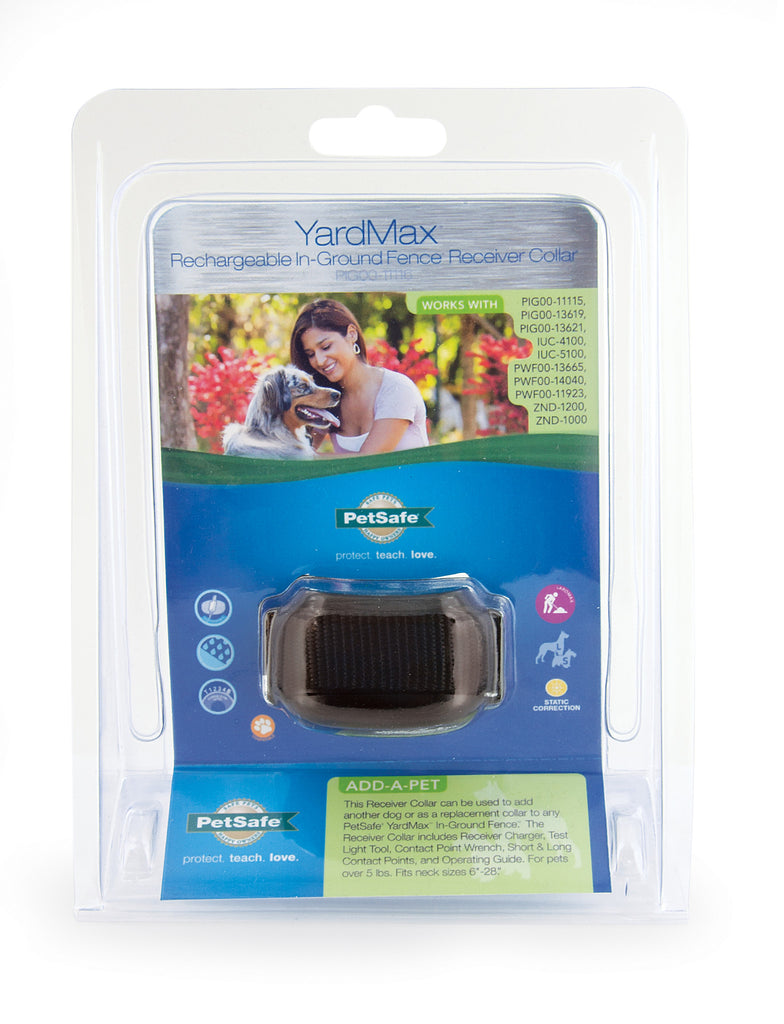 PIG00-11116 PetSafe® YardMax® Rechargeable In-Ground Fence™ Receiver Collar Packaging