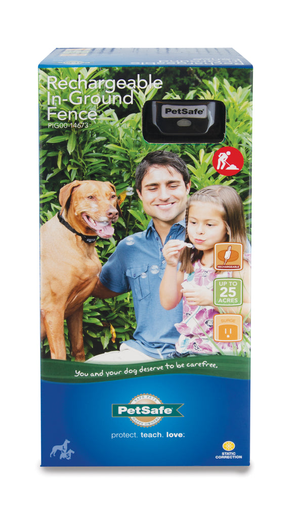 PIG00-14673 PetSafe® Rechargeable In-Ground Fence System Packaging