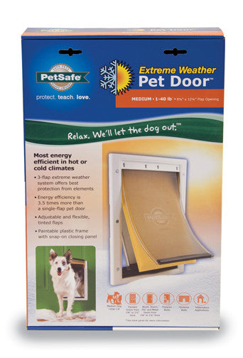 Extreme Weather Pet Door Medium Underground Pet Fencing Inc