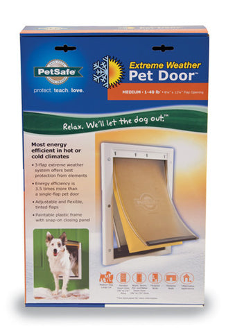 PPA00-10985 Extreme Weather Pet Door™- Medium