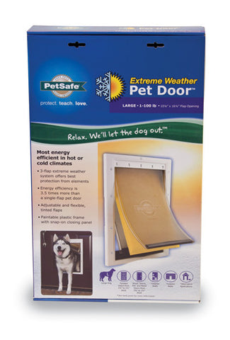 PPA00-10986 PetSafe® Extreme Weather Pet Door™- Large Image