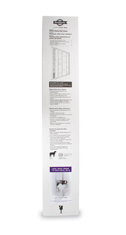 PPA11-13129 PetSafe® Freedom™ Patio Panel-Large, White Image
