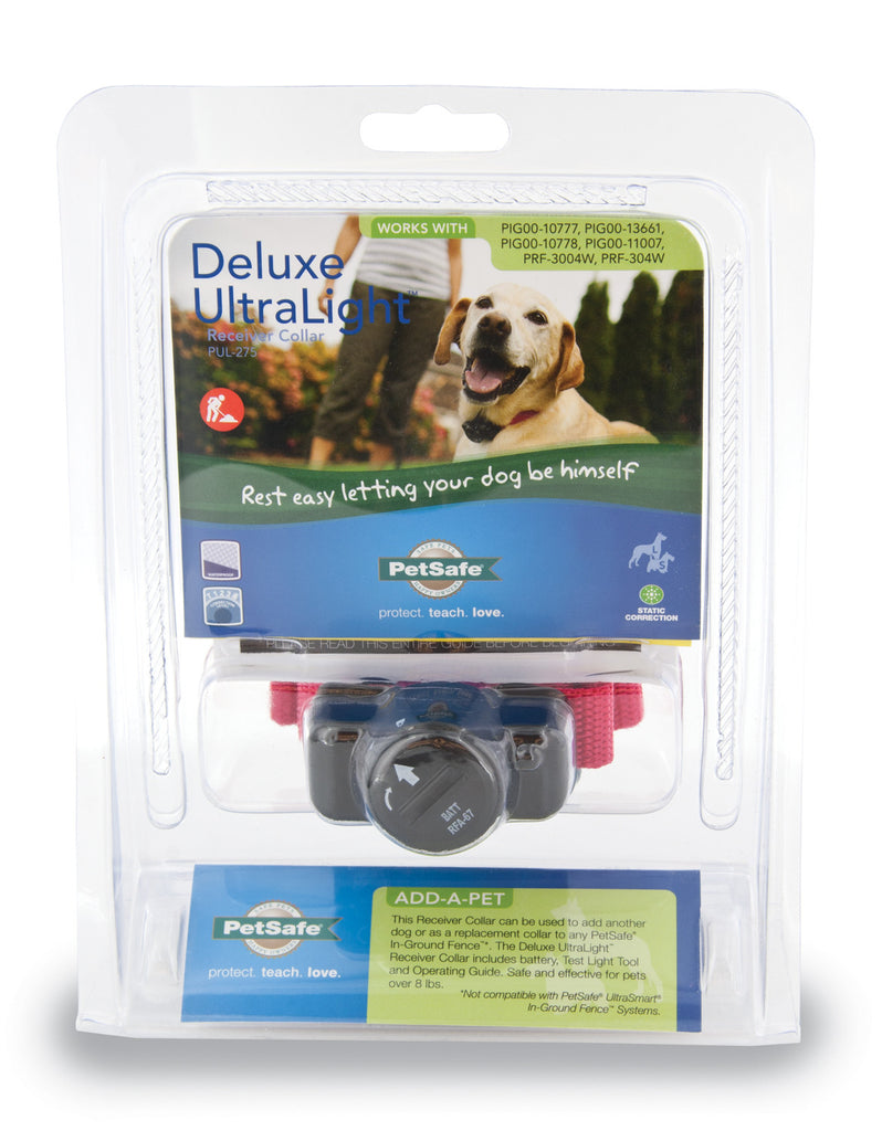 PUL-275 PetSafe® Deluxe In-Ground Fence UltraLight™ Receiver Collar
