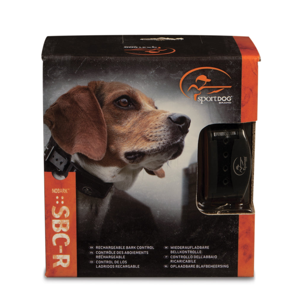 SportDOG Brand® Rechargeable No Bark 10R Packaging