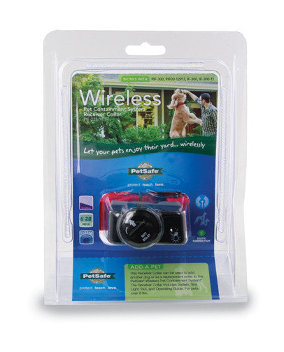 PIF-275-19 PetSafe® Wireless Pet Fence Containment System™ Receiver Collar Packaging