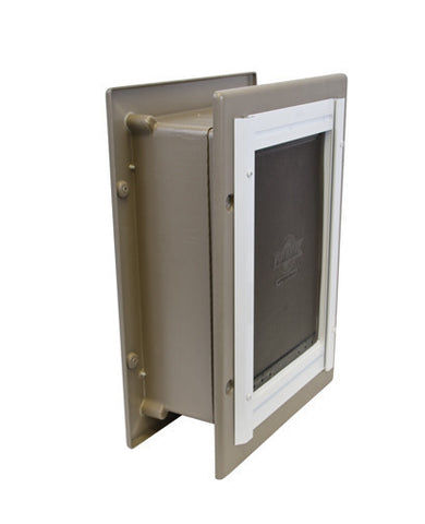 PPA11-10916 PetSafe® Wall Entry Aluminum Pet Door™- Medium
