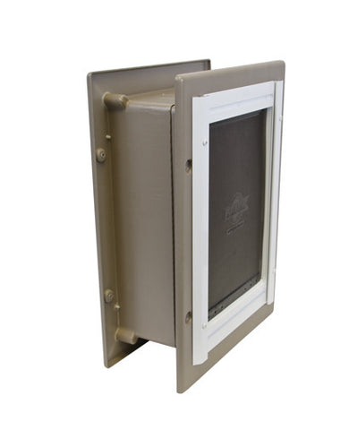 PPA11-10915 PetSafe® Wall Entry Aluminum Pet Door™- Small