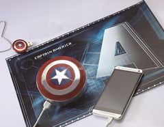 Marvel Captain America 2 : Winter Soldier Mini Bluetooth speaker , InfoThink X Marvel - Fantasyusb Store