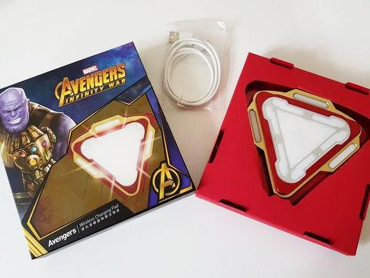 Marvel Avengers ARC Reactor Wireless Charger , MARVEL - Fantasyusb Store