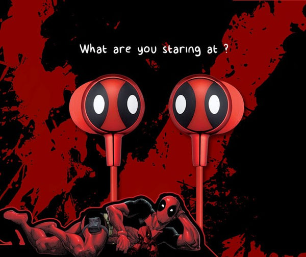 Deadpool 2 Mask Earbuds , MARVEL - Fantasyusb Store