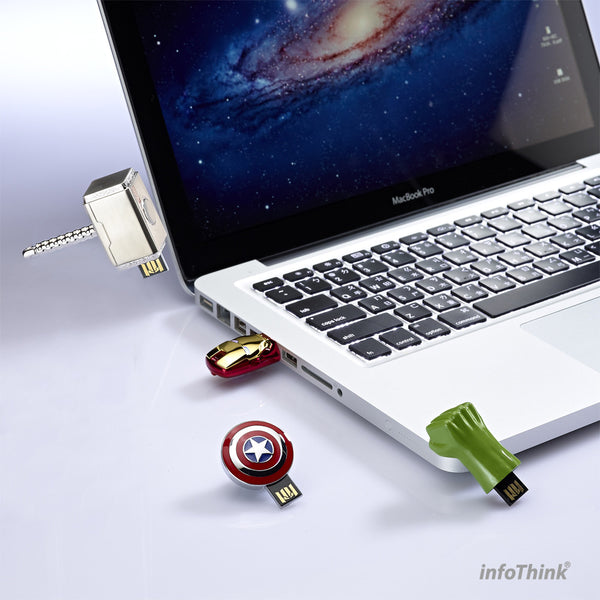 Avengers USB Flash Drive , InfoThink X Marvel - Fantasyusb Store